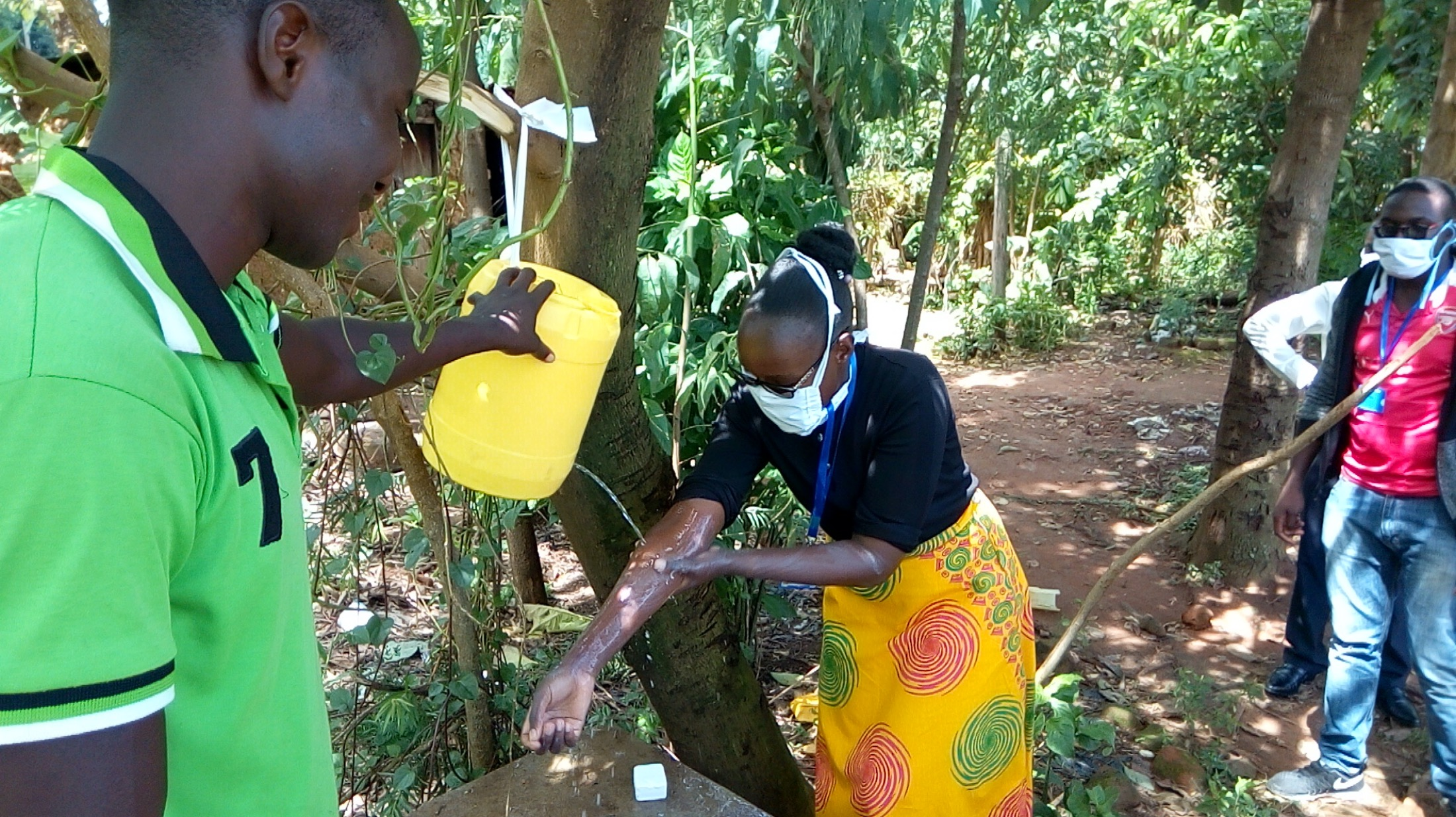 The Water Project : covid19-kenya4264-handwashing-demonstration