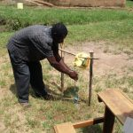 The Water Project: Emunga'bo Primary School Spring Protection and Sanplats -