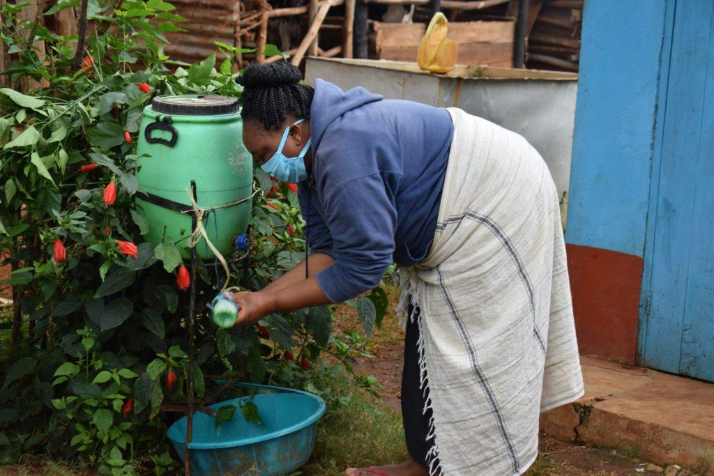 The Water Project : covid19-kenya4456-handwashing-3