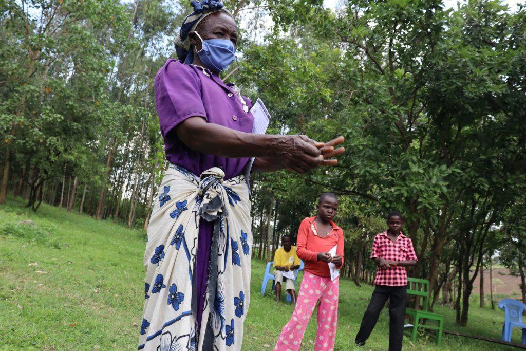 The Water Project : covid19-kenya4566-handwashing-practical-1