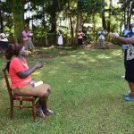 The Water Project: Shitaho Community, Andrea Kong'o Spring -  Handwashing Demonstration