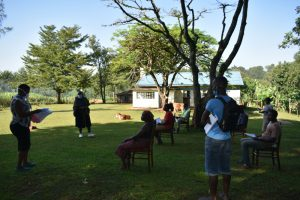 The Water Project:  Participants Attend A Covid Sensitization Training