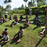 The Water Project: Wamuhila Community, Isabwa Spring -  Social Distancing At The Training