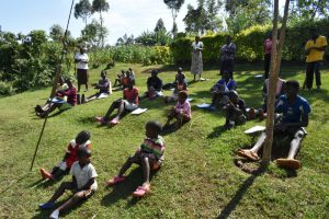 The Water Project:  Social Distancing At The Training
