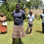 The Water Project: Nyira Community, Ondiek Spring -  Following The Training