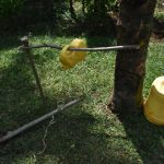 The Water Project: Nyira Community, Ondiek Spring -  Set Up Handwashing Station