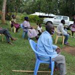 The Water Project: Murumba Community, Muyokani Spring -  Mrs Wagaka Leading A Training
