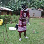 The Water Project: Murumba Community, Muyokani Spring -  The Facilitator Teaching The Ten Steps Of Handwashing