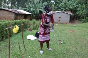 The Water Project:  The Facilitator Teaching The Ten Steps Of Handwashing