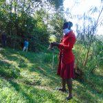 The Water Project: Handidi Community, Malezi Spring -  Sewing A Mask