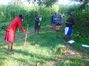 The Water Project:  Demonstating How To Make A Handwashing Station