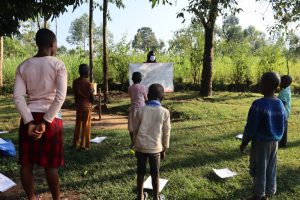 The Water Project:  Using Charts At The Training