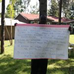 The Water Project: Tsivaka Community, Wefwafwa Spring -  Using Reminder Charts At The Training