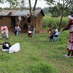 The Water Project: Mumuli Community, Shalolwa Spring -  The Handwashing Exercise