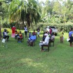 The Water Project: Lutonyi Community, Shihachi Spring -  Training In Session