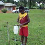 The Water Project: Lutonyi Community, Shihachi Spring -  Young Man Got All Ten Handwashing Steps