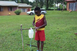 The Water Project:  Young Man Got All Ten Handwashing Steps