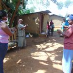The Water Project: Handidi Community, Matunda Spring -  The Handwashing Exercise