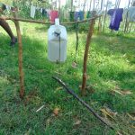 The Water Project: Mukhuyu Community, Shikhanga Spring -  Handwashing Station