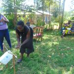 The Water Project: Mukhuyu Community, Shikhanga Spring -  Handwashing Training