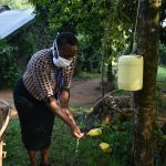 The Water Project: Shitoto Community, Laurence Spring -  Trainer Karen Handwashing