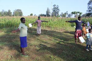 The Water Project:  Ensuring The Social Distance Of Two Meters Is Kept
