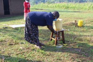 The Water Project:  Rinse Hands In Clean Running Water