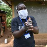 The Water Project: Shikoti Community, Amboka Spring -  Ensure You Scrub Your Hands Thoroughly