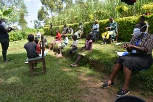 The Water Project:  The Handwashing Exercise