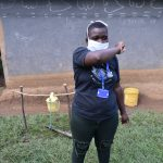 The Water Project: Shikoti Community, Amboka Spring -  Use The Elbow For Coughs And Sneezes