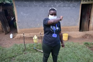 The Water Project:  Use The Elbow For Coughs And Sneezes