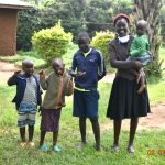 The Water Project: Eshiakhulo Community, Asman Sumba Spring -  Mercy Ogonga With Her Children
