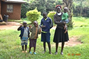 The Water Project:  Mercy Ogonga With Her Children