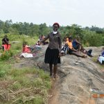 The Water Project: Eshiakhulo Community, Asman Sumba Spring -  Mercy Actively Participates At Training