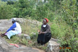 The Water Project:  Mercy Adheres To Social Distancing At Training