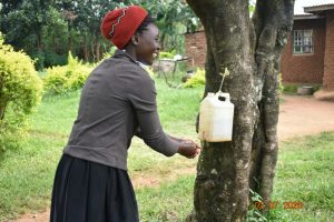 The Water Project:  Mercy Washes Her Hands
