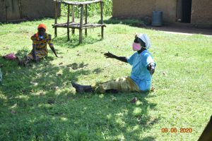 The Water Project:  Catherine Actively Participates At Training