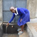 The Water Project: Mutiva Primary School -  Enjoying Clean Water