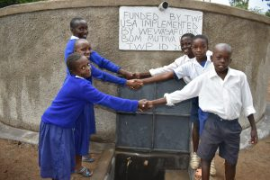 The Water Project:  Handshaking At The Water Point