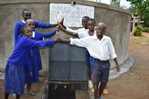 The Water Project:  Happy To Get Clean Water
