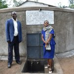 The Water Project: Mutiva Primary School -  Headteacher And Assistant Sanitation Teacher