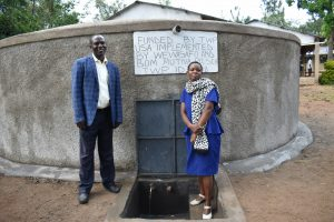 The Water Project:  Headteacher And Assistant Sanitation Teacher