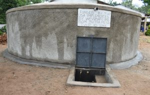 The Water Project:  Water Point Flowing Without People