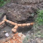 The Water Project: Mahira Community, Litinyi Spring -  Brick Works