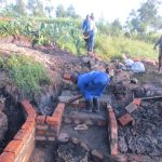The Water Project: Mahira Community, Litinyi Spring -  Stairs Construction