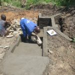 The Water Project: Mahira Community, Litinyi Spring -  Plaster Works