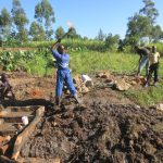 The Water Project: Mahira Community, Litinyi Spring -  Site Leveling