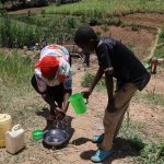 The Water Project: Mukhuyu Community, Chisombe Spring -  Demonstrations Of Handwashing
