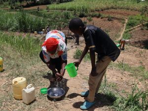 The Water Project:  Demonstrations Of Handwashing