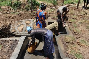 The Water Project:  Site Maintenance Training Washing Of The Spring